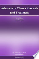 Advances in Chorea Research and Treatment  2011 Edition