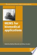 Mems for Biomedical Applications Book