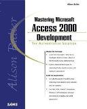 Alison Balter s Mastering Microsoft Access 2000 Development