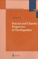 Fractal and Chaotic Properties of Earthquakes