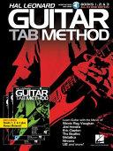 Hal Leonard Guitar Tab Method  Books 1  2   3 All In One Edition