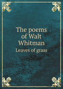 Pdf The poems of Walt Whitman