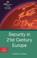 Cover of Security in 21st Century Europe