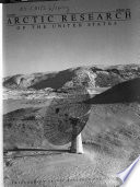 Arctic Research of the United States Book PDF