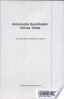 Historische Koordinaten Chinas Tibets