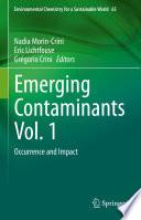 Emerging Contaminants Vol. 1
