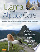 Llama and Alpaca Care   E Book Book