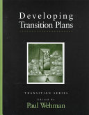 Developing Transition Plans