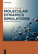 Molecular Dynamics Simulations Book