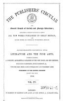 Publishers Circular And Booksellers Record Book PDF