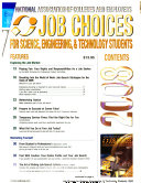 Job Choices for Science, Engineering, and Technology Students