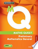 Maths Quest Preliminary Mathematics General 4E and EBookPLUS
