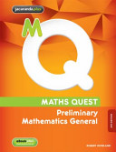 Cover of Maths Quest Preliminary Mathematics General 4E and EBookPLUS
