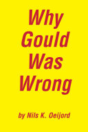 Why Gould Was Wrong