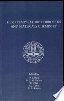 Proceedings Of The Symposium On High Temperature Corrosion And Materials Chemistry Book PDF