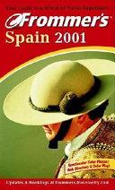 Frommer s Spain 2001