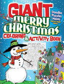 GIANT Merry Christmas Coloring & Activity Book