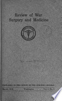 Review Of War Surgery And Medicine