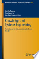 Knowledge and Systems Engineering Book