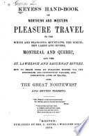 Keyes's Hand-book of Northern and Western Pleasure Travel