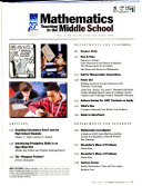Mathematics Teaching in the Middle School