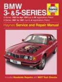BMW 3 & 5 Series Service and Repair Manual