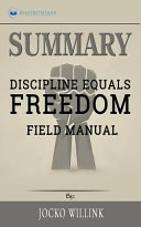 Summary  Discipline Equals Freedom