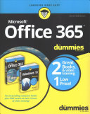 Windows 10 Office 365 For Dummies Book Video Bundle