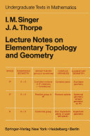 Lecture Notes on Elementary Topology and Geometry