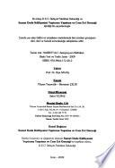 Hazreti Ali sempozyum bildirileri, 24-25 Ekim 2007