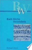 Bach-Werke-Verzeichnis