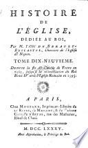 Depuis la fin du Concile de Trente en 1563, jusqu' a la reconciliation du Roi Henri IV avec l' Eglise Romaine en 1595