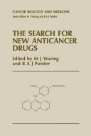 The Search for New Anticancer Drugs Book