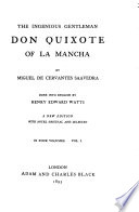 The Ingenious Gentleman Don Quixote of La Mancha