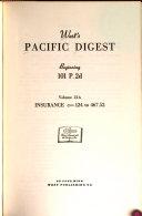 West s Pacific Digest