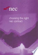 Choosing The Right Nec Contract Book
