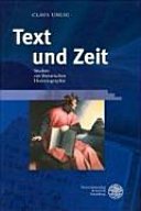 Text und Zeit