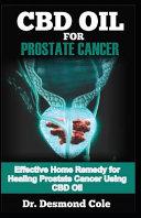 CBD Oil for Prostate Cancer