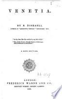 Venetia Book PDF