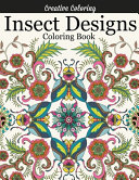 Insect Designs Coloring Book