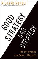 Good Strategy Bad Strategy Pdf/ePub eBook