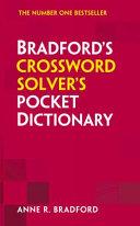 Collins Bradford s Crossword Solver s Pocket Dictionary