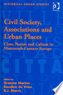 Civil Society Associations And Urban Places