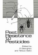 Pest Resistance to Pesticides Book