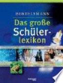 Bertelsmann, Das große Schülerlexikon