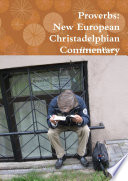 Proverbs  New European Christadelphian Commentary Book