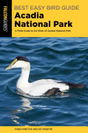 Best Easy Bird Guide Acadia National Park