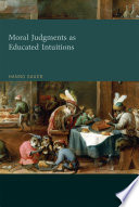 Moral Judgments as Educated Intuitions Pdf/ePub eBook