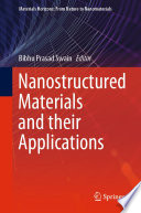 Nanostructured Materials and their Applications Book