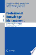 Professional Knowledge Management